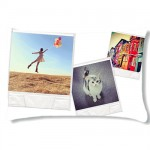 Polaroid Rectangulary cushion with PERSONALIZED PICTURE