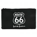 Route 66 Logo cosmetic bag