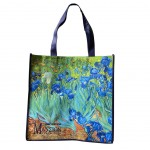 Bag for shopping Van Gogh - Iris 40 x 40 cm