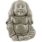 Grey Buddha Perfume Diffuser - cracked ceramic