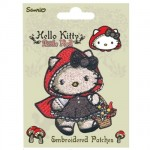 Hello Kitty Little red embroidered patch