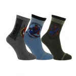 Spiderman 3 pairs of socks size 31-35